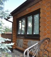 Деревянный дом с. Конча-Заспа